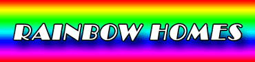 Logo, Rainbow Homes